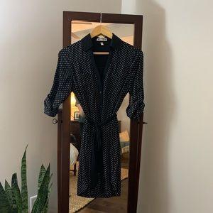 EXPRESS Button-Front Dress